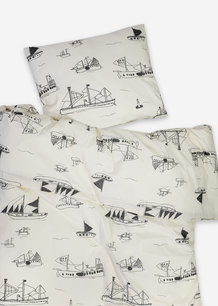 OHOY BED SET, NATURE