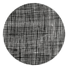 CHECKED POT MAT, BLACK