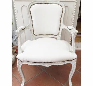 Vacker Rokoko stol