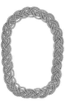 Twine Halsband Silver