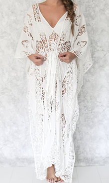 Bianca long white
