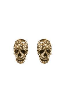 Multi Döskalle-örhängen Guld