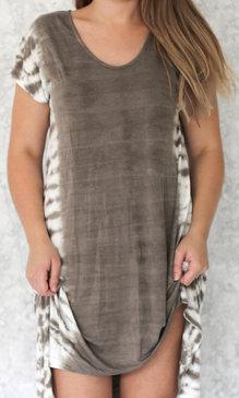 Lia dress armygreen