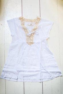 Ebba klänning vit