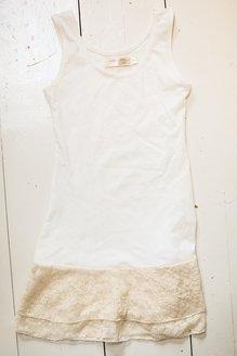 Underklänning med spets, barn