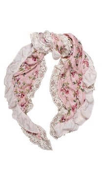 Elenora sjal rosa