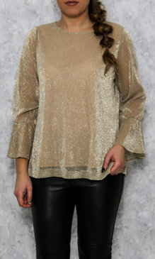 Lucy top gold