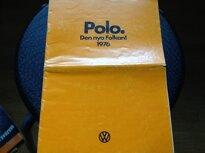 Broschyr VW Polo 1976