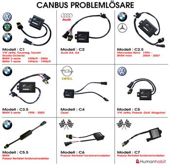 Canbus modellanpassade fix