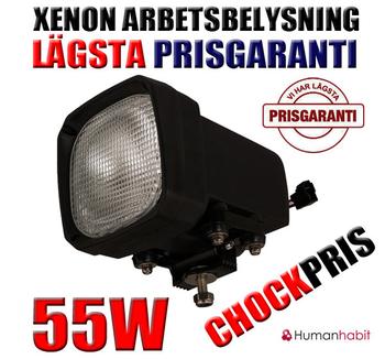 55W Xenon proffs arbetsbelysning