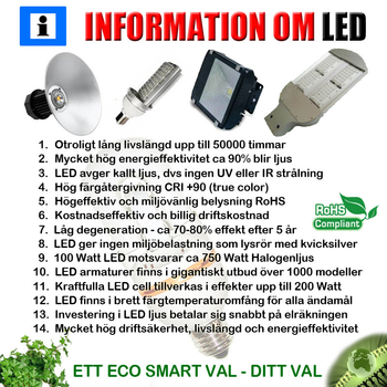 100 (2x50) Watt Power LED 230 VAC