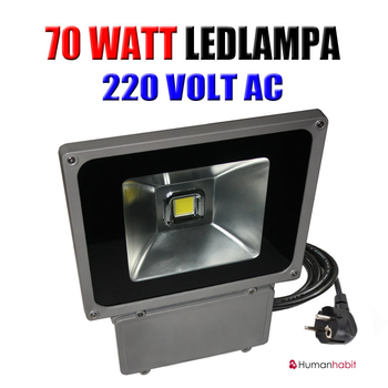 70 Watt Power LED 230 VAC