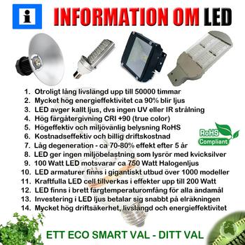 100 Watt Power LED 230 VAC