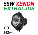 55W Xenon Extraljus Ø142mm 9-32V Svart