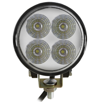 12W CREE LED extraljus spot E-märkt 9-32V