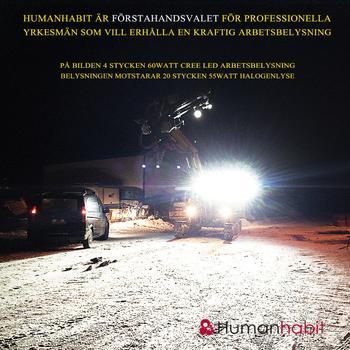 120W LED CREE arbetsbelysning Heavy Duty 9-48V