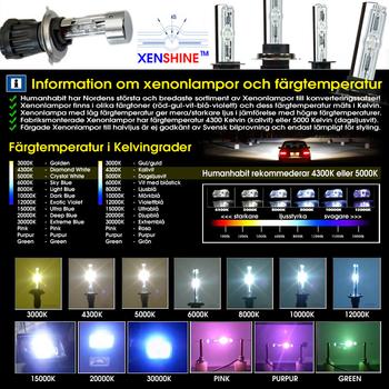35w H6 Bi-Xenonkit för MC, ATV