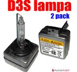D3S Original  e-märkt 5000K Einparts