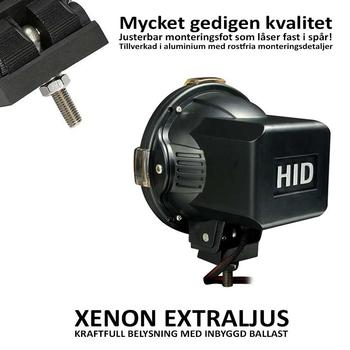 55W Xenon Extraljus Ø180mm
