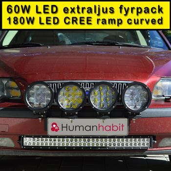 Quick-Light avtagbart extraljusfäste för 2 st extraljus eller ledramp
