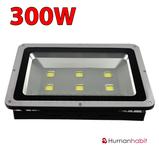 300W LED strålkastare 230V 30000 lumen