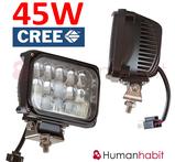 45W CREE LED extraljus 3900 lumen