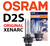 D2S Original Osram XenArc® 1-pack