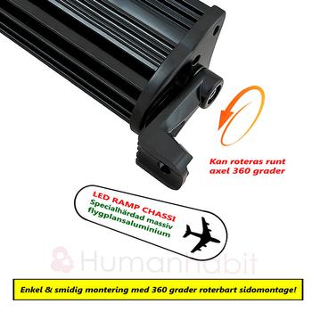 200W LED ramp 20x10W CREE XM-L T6 9-30V 18000Lm