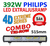 392W LED ramp Philips 4D optik COMBO fäste undertill