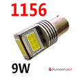 Ba15s High power 9W COB 9-30V