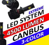 LED konvertering 4500 lumen CREE canbus extreme
