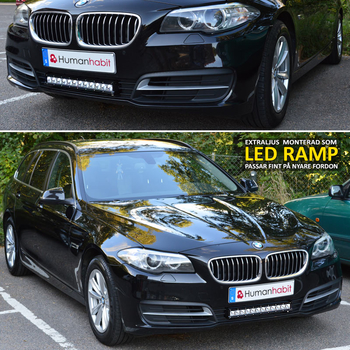180W LED ramp CREE XB-D curved E-mark 885 mm