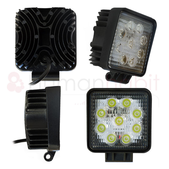 Utförsäljning STORPACK LED arbetsbelysning flertalet modeller 9-32V