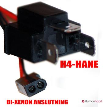 H4 Bi-xenon polvändare