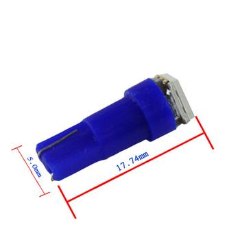 T5 styling med 1st 5050 SMD med valbara färger - passar 12 Volt elsystem