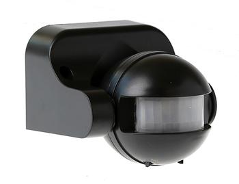 Rörelsesensor med inbyggd nattsensor max 1200 Watt för 230V 50-60 Hhz P-06