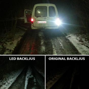 Ba15s 11 Watt LED backljus etc