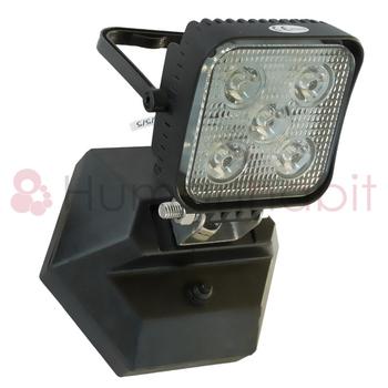 15W portabel laddbar LED arbetssbelysning magnetfot