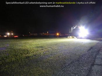 KAMPANJ! 48W LED arbetsbelysning valbar 20° och 60° ECE R10 9-32 Volt L0081