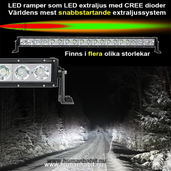 180W LED ramp CREE 13200 lumen 9-30V 883mm