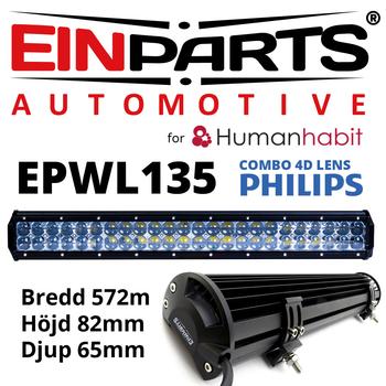 Utförsäljning kraftfulla LED extraljusramp för nummerskyltsmontage