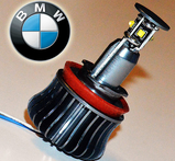 H8 CREE 20W BMW angel eyes