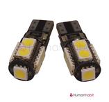 T10 Canbus med 9st 5050 SMD 12-24V non-polarized