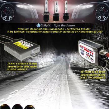 12 Volt Cnlight® Slim Speedstarter Xenonkit