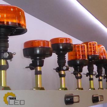 36W LED varningsljus roterande R65 R10 magnetfäste ALR0004