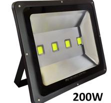 200W LED strålkastare 230V 20000 lumen