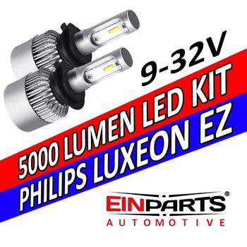 LED konvertering 5000 lumen 360 grader 9-32V