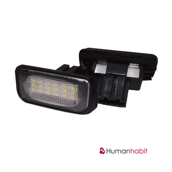 Benz W203 4D LED License Plate Lamp 9-30V