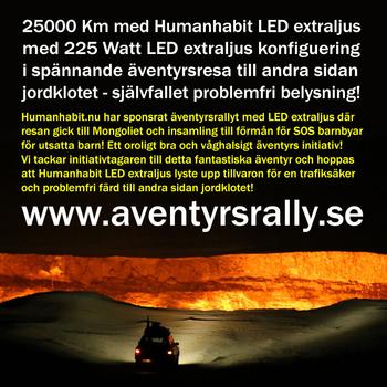 90W LED extraljus slimmad ⌀189,5 mm 10000 lumen