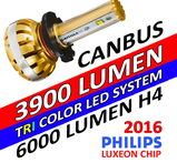 LED konvertering 3900 lumen med Philips chipset 8-32V